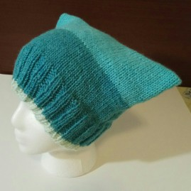 Knit Square_Cat Hat dark blue 002