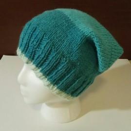 Knit Square_Cat Hat dark blue 004